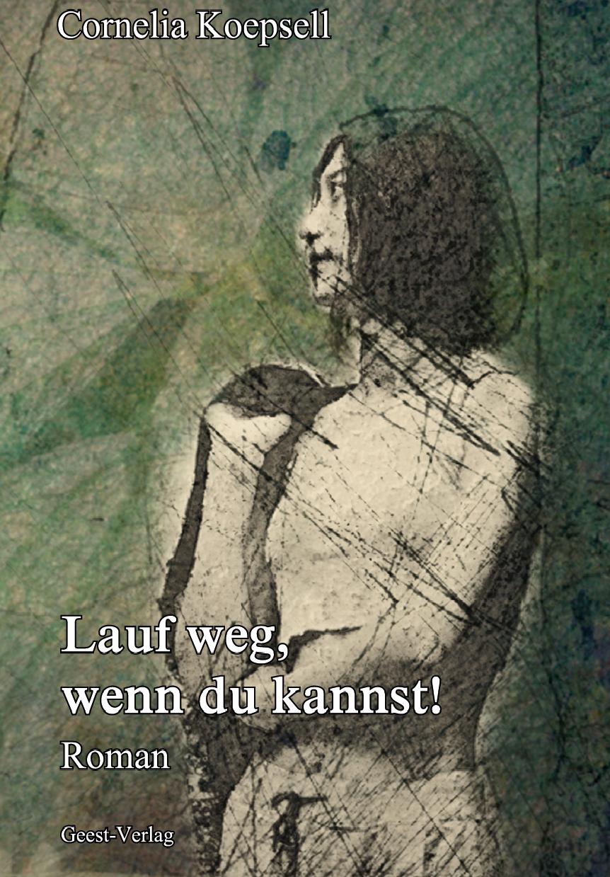 stilisierte Frau vor grünem Hintergrund ©Geest-Verlag