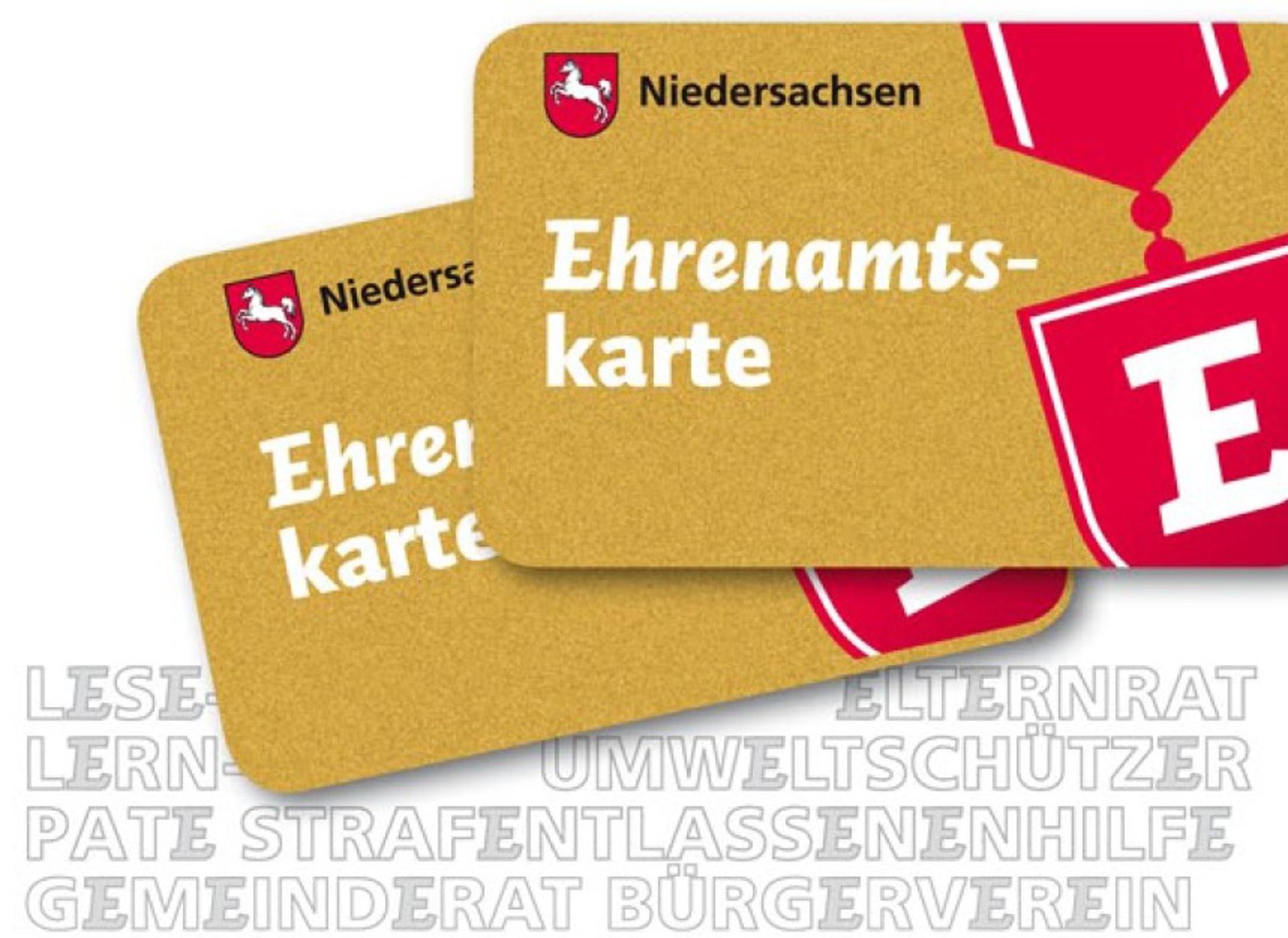 ehrenamtskarte 5 ©Land Niedersachsen