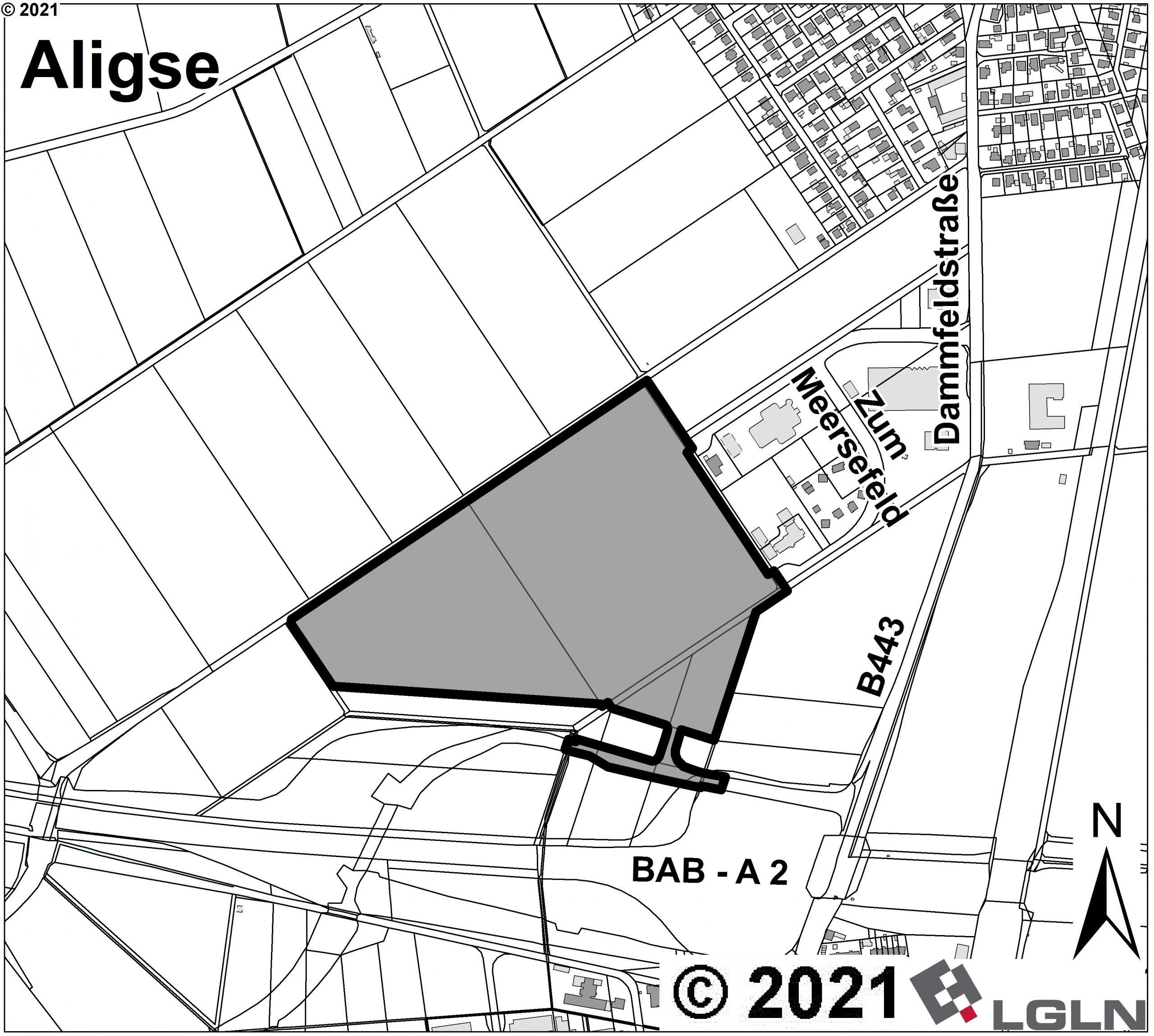 Teilgeltungsbereich A in der Gemarkung Aligse ©Anja Hampe