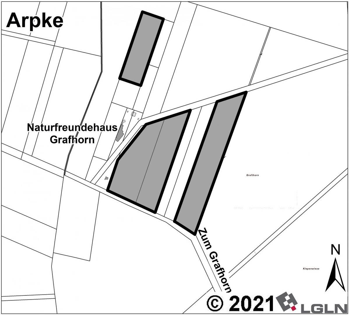 Teilgeltungsbereich B in der Gemarkung Arpke © Anja Hampe