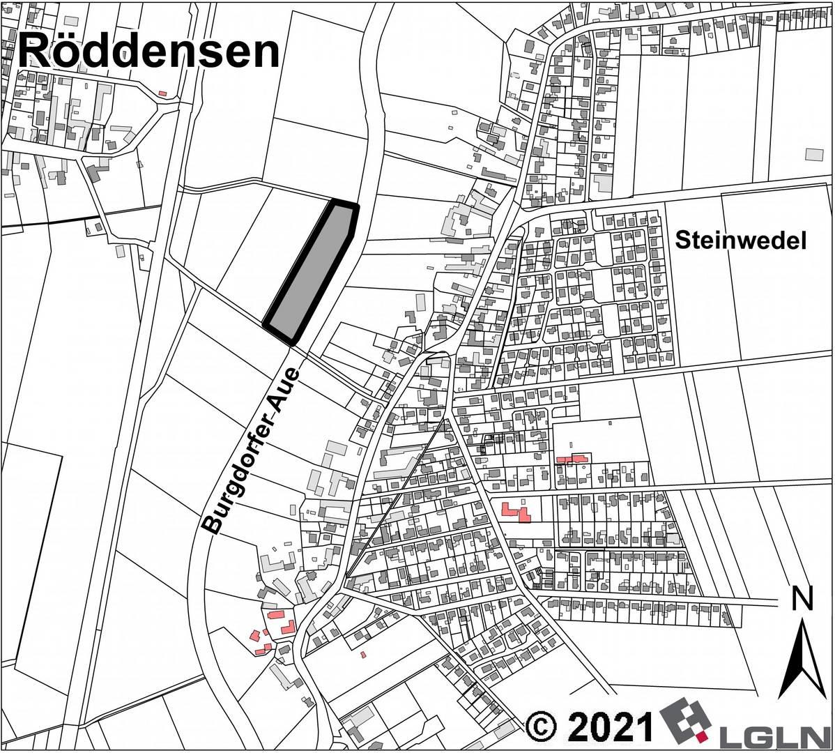 Teilgeltungsbereich C 1 in der Gemarkung Röddensen © Anja Hampe