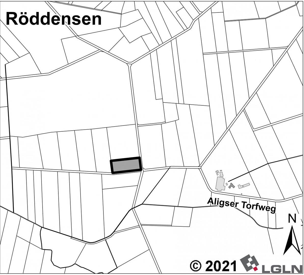 Teilgeltungsbereich C 2 in der Gemarkung Röddensen © Anja Hampe