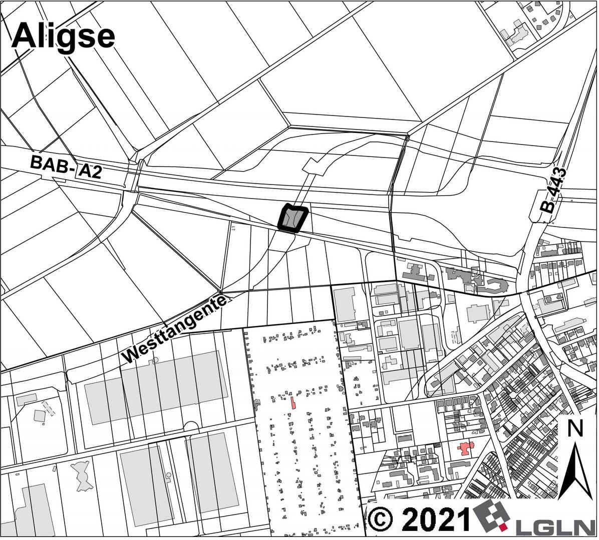 Teilgeltungsbereich D in der Gemarkung Aligse © Anja Hampe