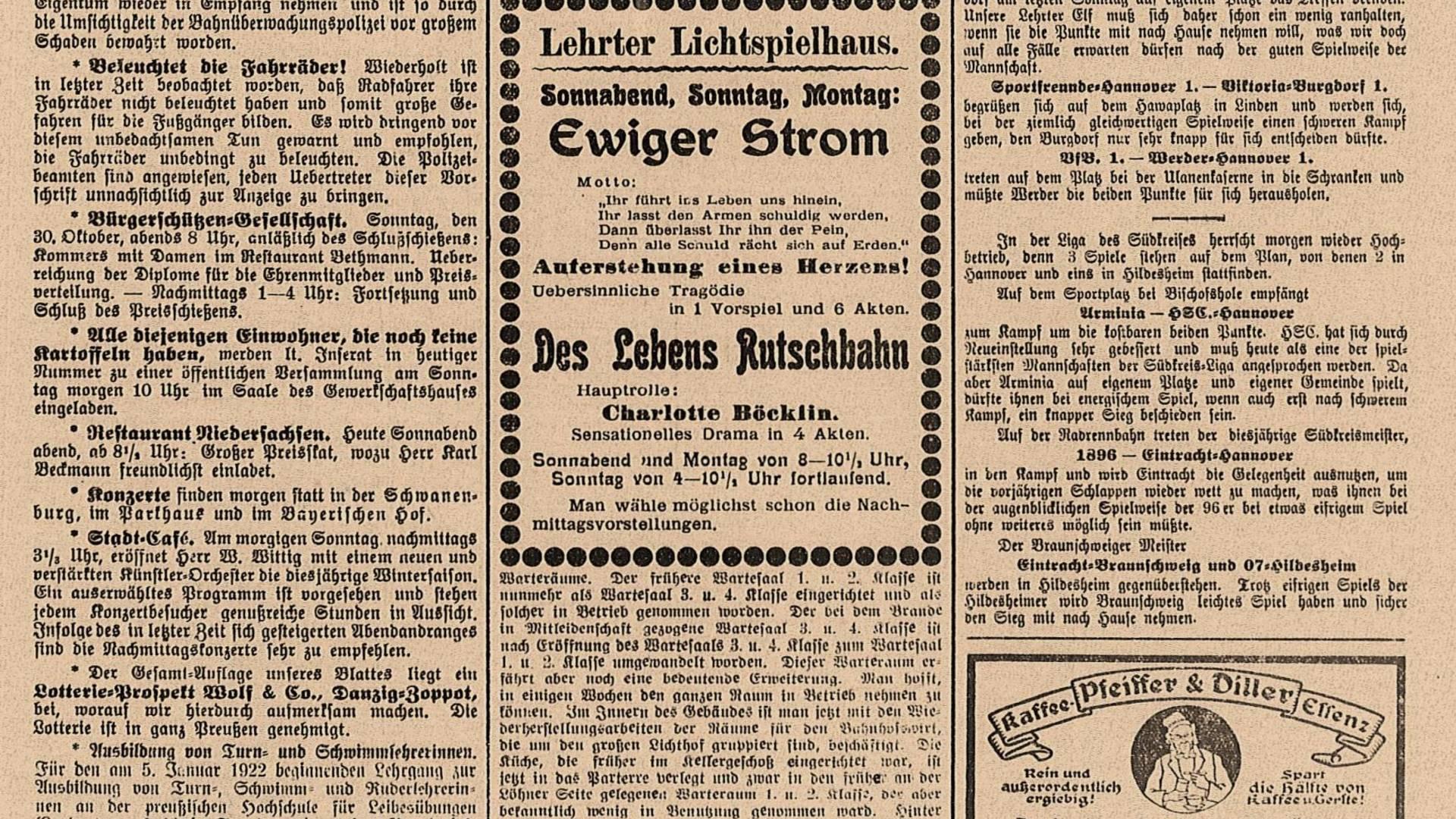 1920 10 23 ©Stadtarchiv Lehrte