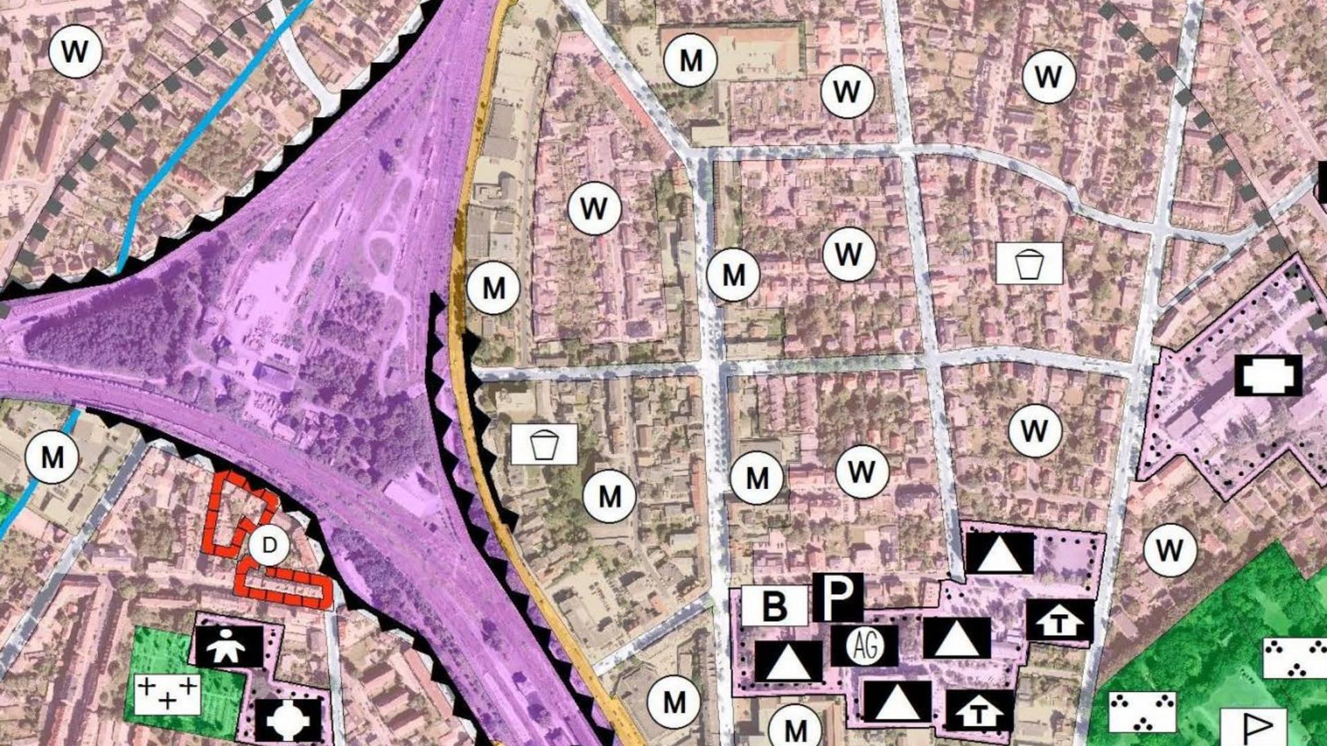 Flächennutzungsplan © Fachdienst Stadtplanung