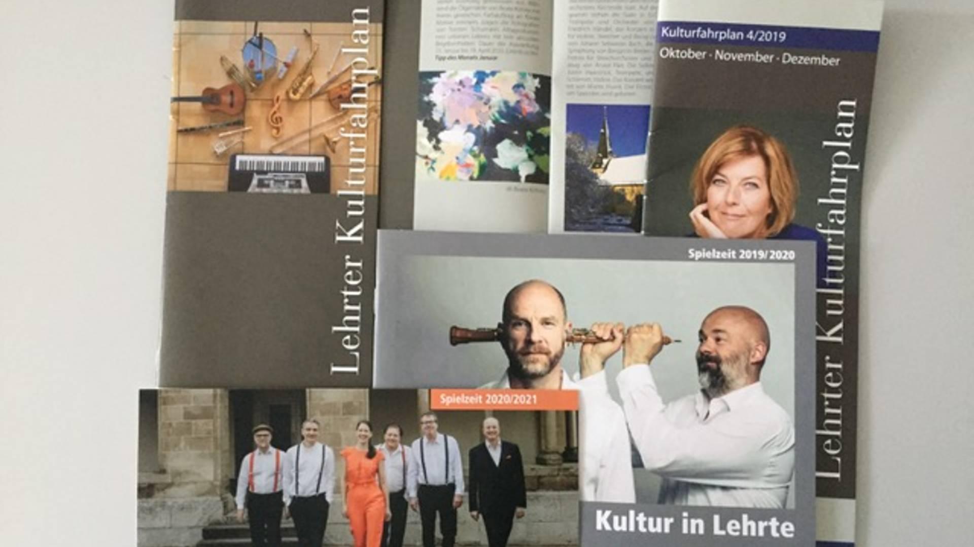 Broschüren 9 ©Stadt Lehrte