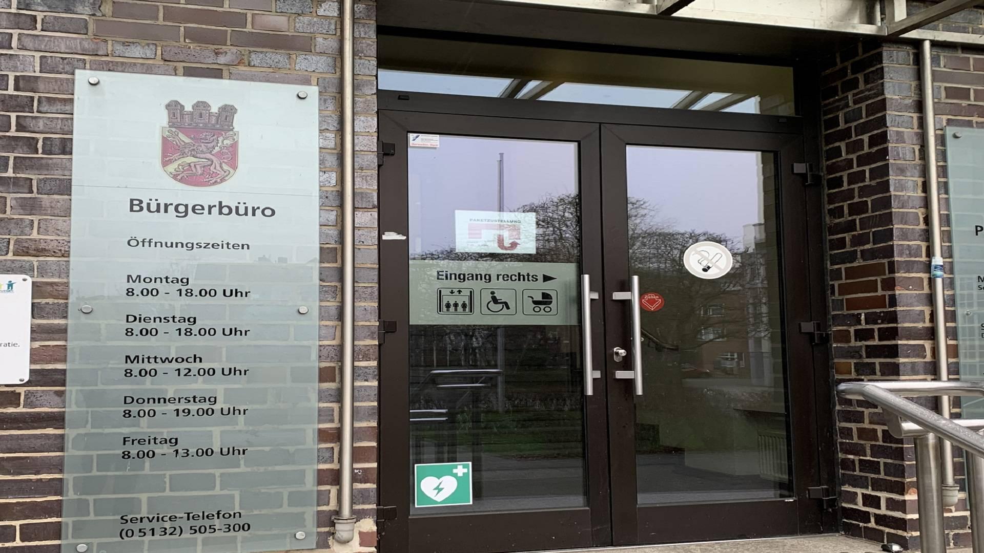 Bürgerbüro © Gottbrecht