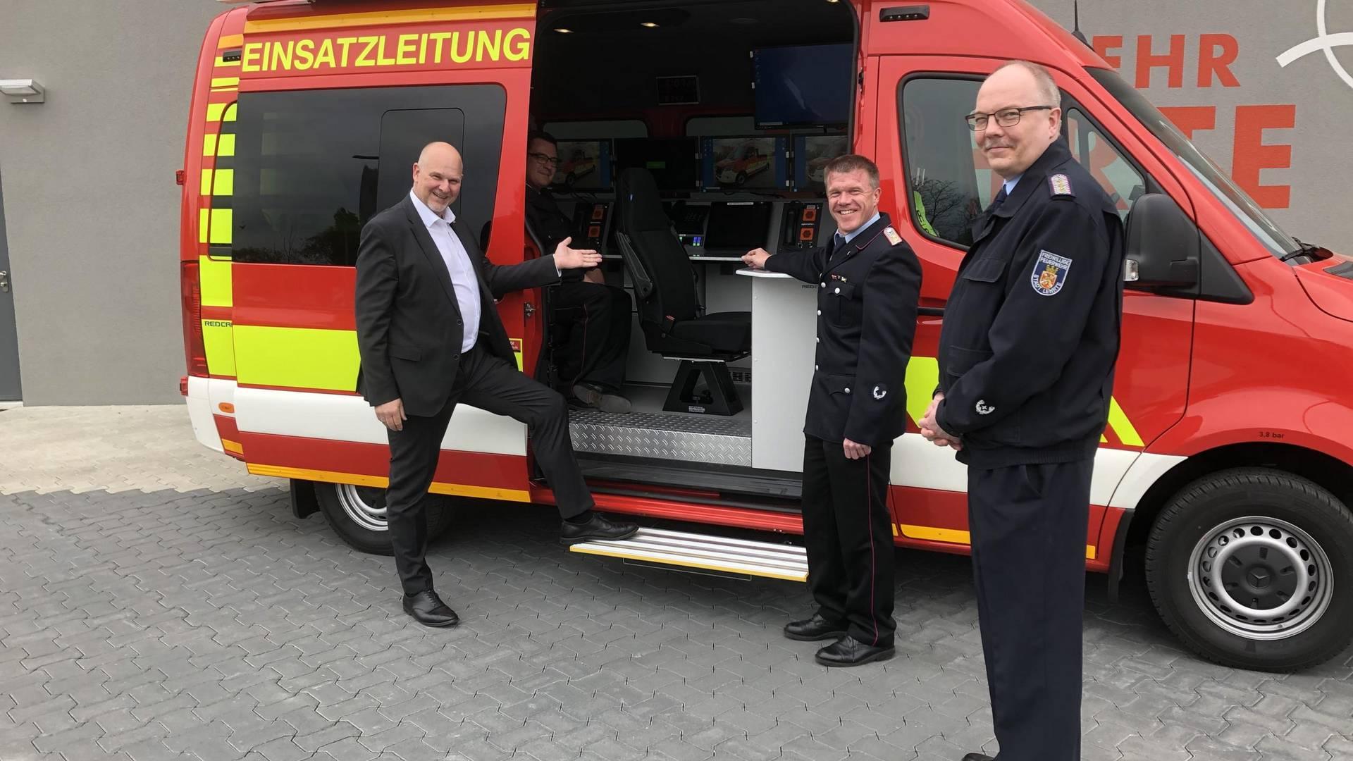 Einsatzleitwagen Feuerwehr Lehrte © Fabian Nolting